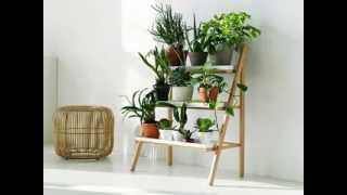 Simple Diy Vertical Plant Stand Design Ideas