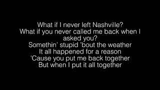 John K.- If We Never Met Lyrics