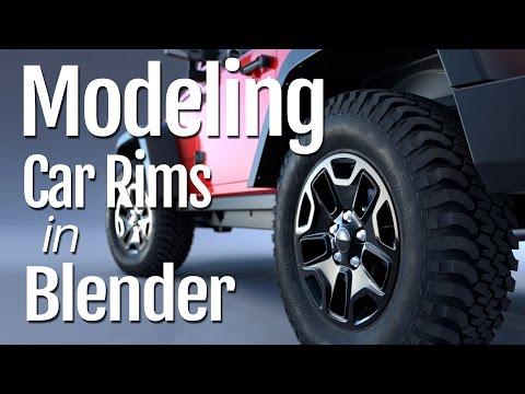 Modeling Car Rims in Blender