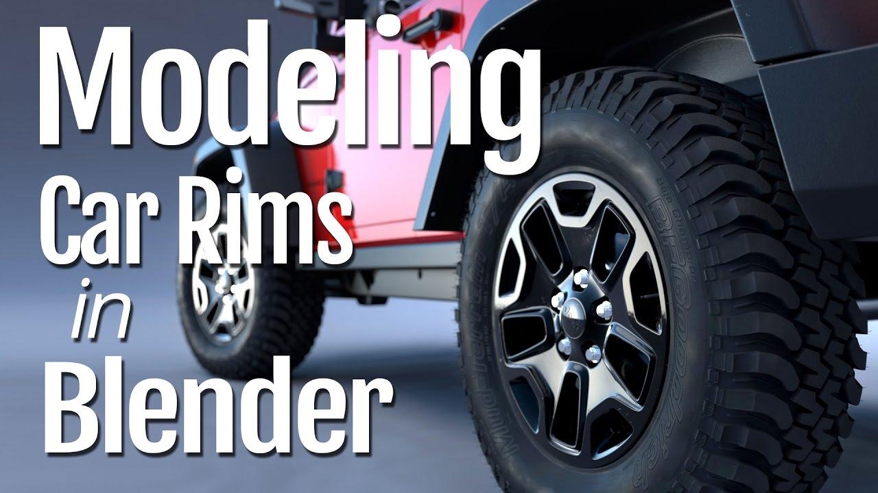 Modeling car rims in blender youtube modeling car rims in blender malvernweather Choice Image