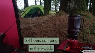 Stealth Camping in the woods | Wild Camping Scotaland | Kilpatrick hills  Loch humphrey