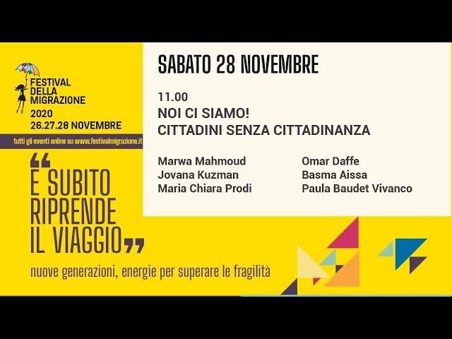 Prima Sessione Festival della Migrazione 2020 // Sabato 28 novembre