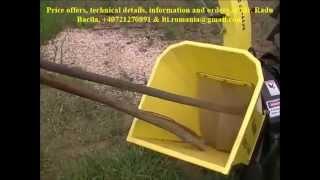Tocatoare De Deseuri Lemnoase 10cm Ø Pto Wood Waste Chippers