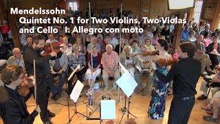Mendelssohn: Quintet No. 1, I. Allegro con moto - ChamberFest Cleveland