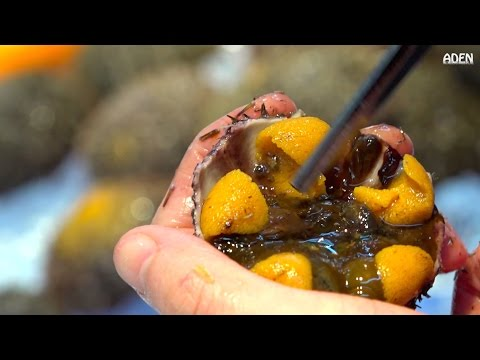 Uni - Raw Street Food In Japan