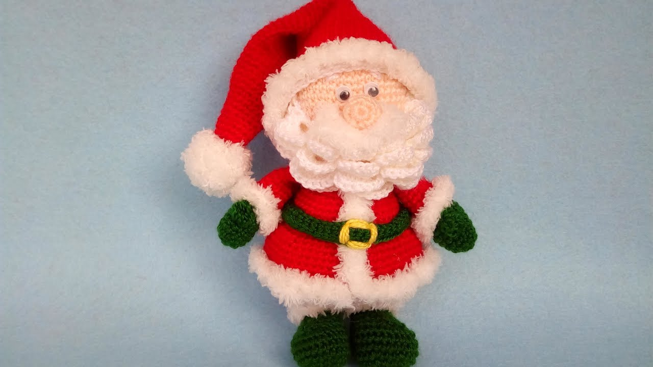 CROCHET AMIGURUMI PUPAZZO Folletto Gnomo Natale Handmade Uncinetto ... | 720x1280