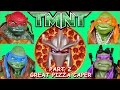 Teenage Mutant Ninja Turtles & The Great Pizza Caper PT.2! TMNT Toys! Can the Turtles Stop Shredder?