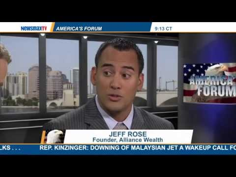 Interview with NewsMaxTV about my book Soldier of Finance