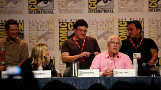 Chevy Chase on why he joined Community cast - Community panel, Comic-Con