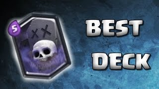the best graveyard deck in clash royale   arena 8 9