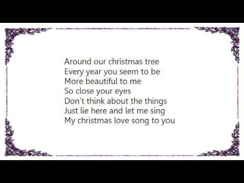 Christmas love songs lyrics