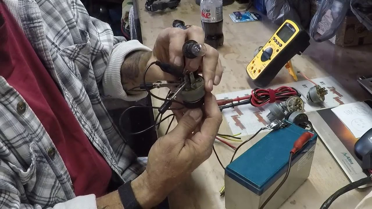 Lawn Mower Ignition Switch Wiring