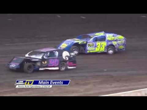 Perris Auto Speedway Opening Weekend - IMCA Modifieds