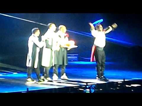 Singing Happy Birthday to JB! - JLS LIVE LG Arena Birmingham 7.12.10