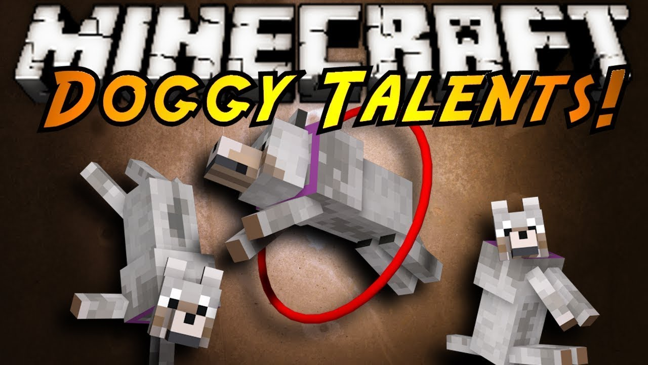собачьи таланты вики майнкрафт #8
