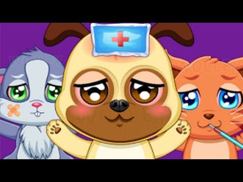 Free games for kids to play online  ER Pet Vet  Animal care color games coco play  part 3