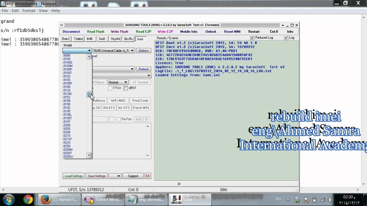 N7100 Not Registered On Network Z3x