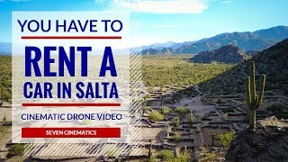 You have to rent a car in Northwest Argentina | Cinematic Drone Video