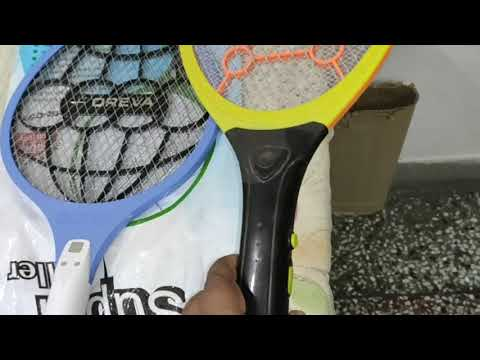 Orevo Mosquito Killer Racket : Unboxing and Quick Review from YouTube · Duration:  4 minutes 34 seconds