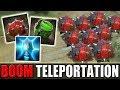 Big Boom Teleportation [Proximity Mines + Holy Persuasion] Dota 2 Ability Draft