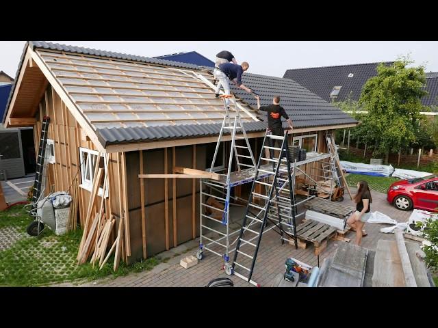 Building process annexe by LHV