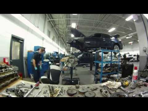 BMW 750i N63B44 Timing chain replacement