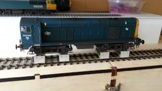 Heljan O gauge class 20 with Legoman sound
