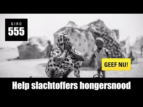 Tv-spot 'Help slachtoffers hongersnood'