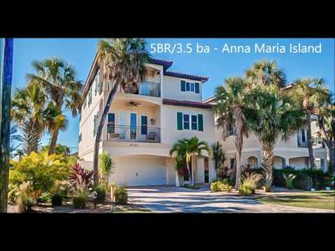 Tropical Island **Luxury Anna Maria** Florida Beach House Sunshine State