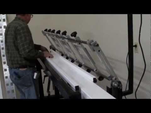Vinyl Post Floor Routing System