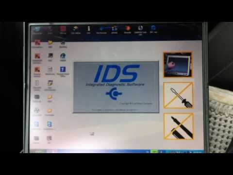 FORD IDS VCM TESTING With Foucs