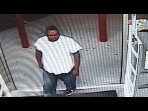 Surveillance video of shooting at Birmingham Family Dollar