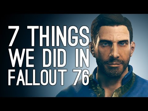Fallout 76 Gameplay: 7 Things We Did in Fallout 76 - NUKES! VATS! BANJO! thumbnail