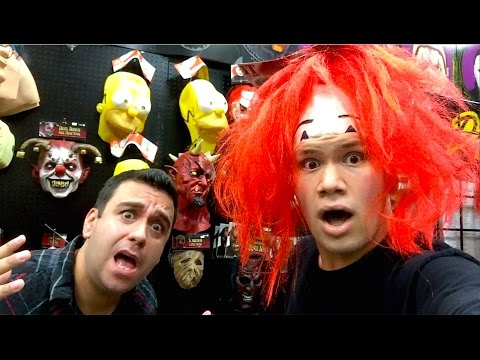 Scary Fun at the Halloween Costume Shops