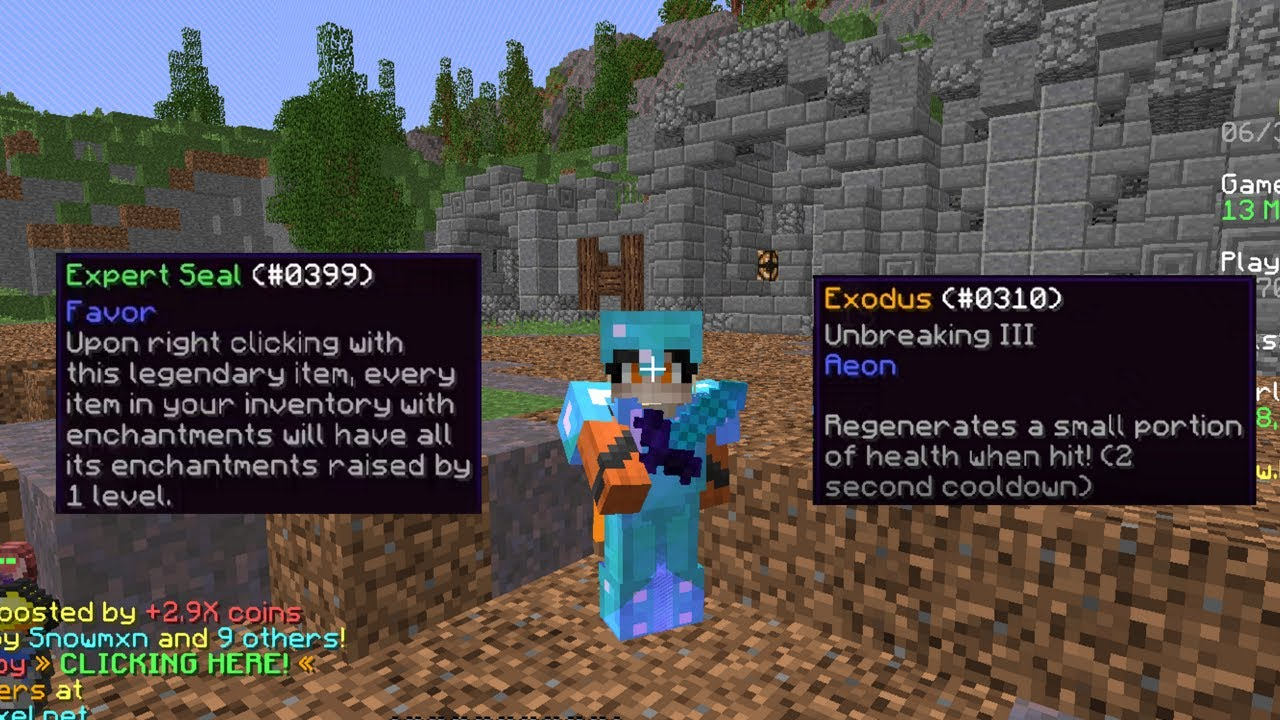 Expert Seal and Exodus - Hypixel UHC