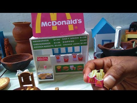 Miniature McDonalds French Fries | Miniature Cooking | Crispy French Fries