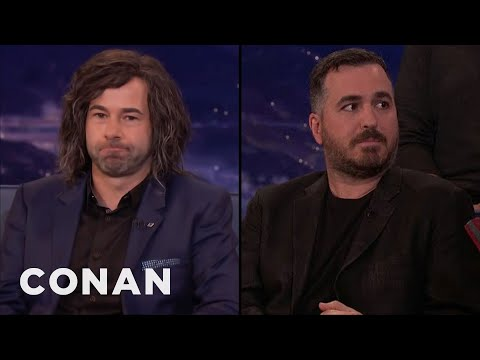 Murr Is Wearing A Wig Made Out Of Q's Hair  - CONAN On TBS