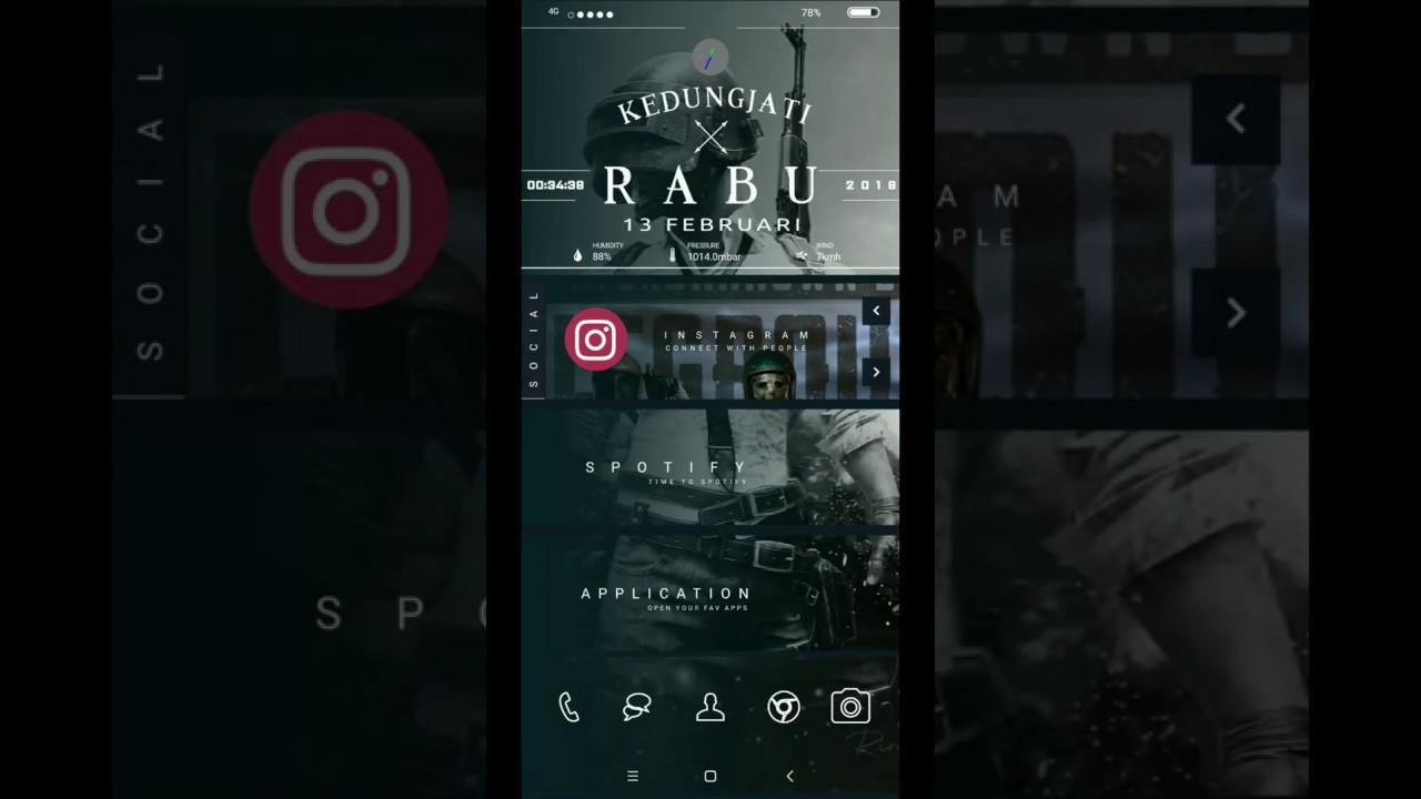 Kustomisasi Tema Wallpaper Untuk Android Pubg Klwp Nova