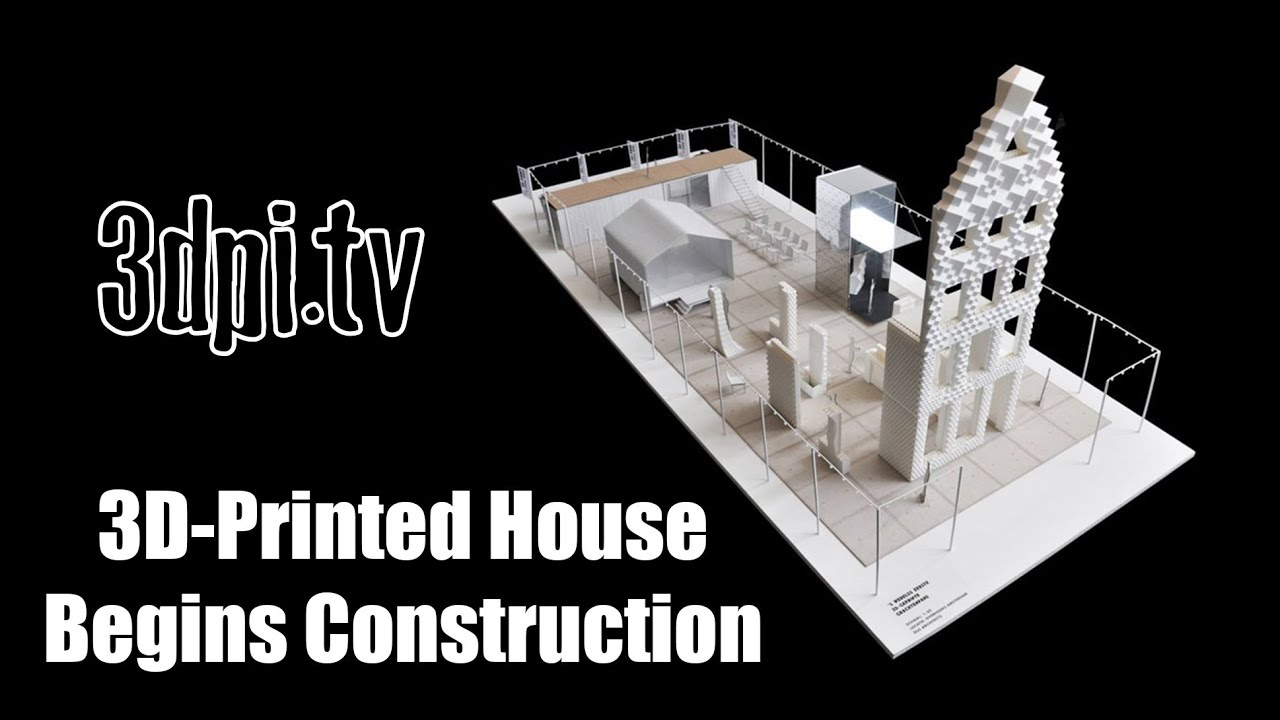 The Worlds First 3D Printed House Begins Construction