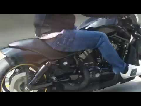 Nightrod Special Harley 2012 with Toxic Mystro exhaust
