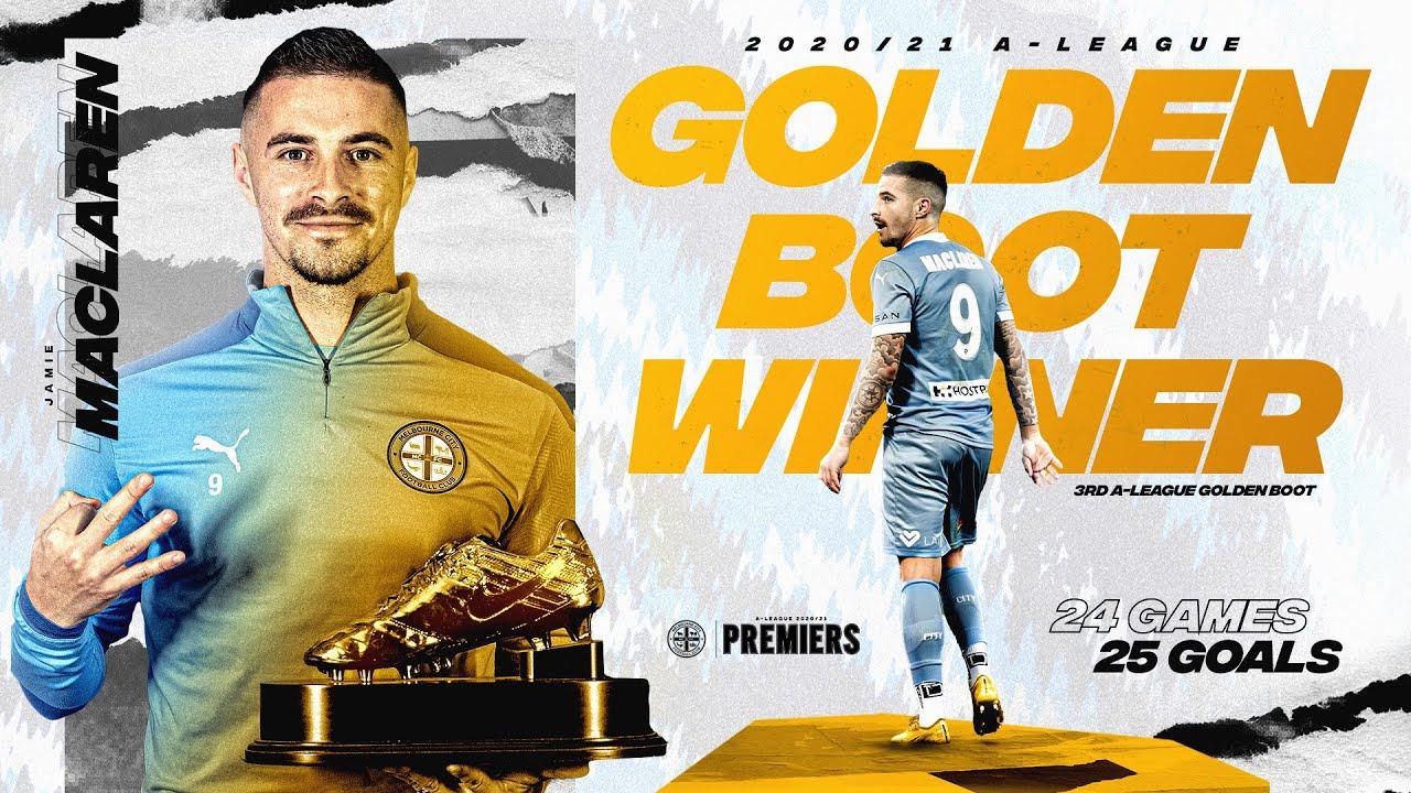 Jamie Maclaren   All The Goals   A-League Golden Boot 2020/21
