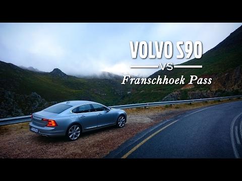 Volvo S90 vs Franschhoek Pass