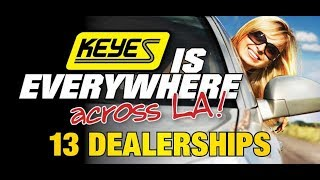 Get the best car prices at Keyes dealerships. Tell them the Rideshare Professor sent you.