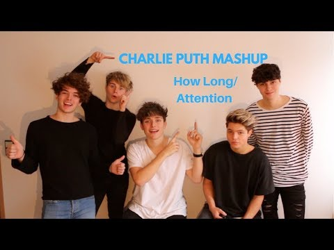 CHARLIE PUTH - How Long & Attention (Mashup cover by Over Atlantic)