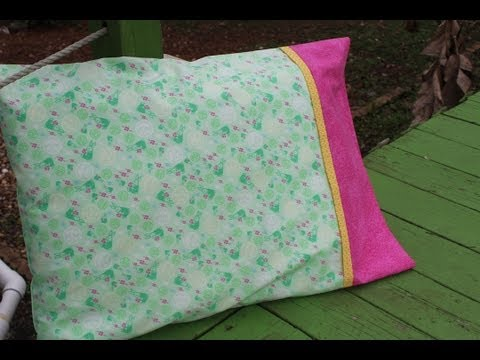 How To Make A Pillowcase- Burrito/sausage/roll Up Method