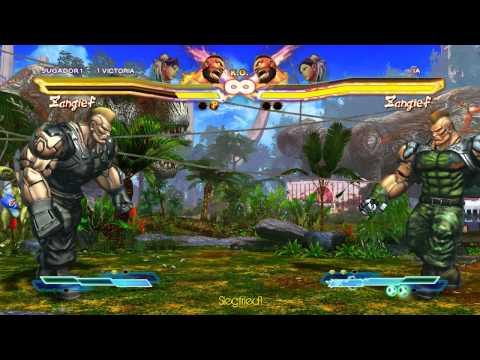 Street Fighter X Tekken PC - JACK X (ZGF) ELENA (CNL)