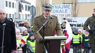 Płk. Jan Gliński - dowódca 22 WOK w Komorowie. Upamiętnienie Żołnierzy Wyklętych - 28.02.2020