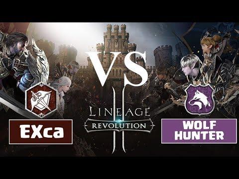 EXcalibur vs WolfHunter - Lineage 2 Revolution Indonesia