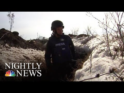 Inside Ukraine's Heated Battle Against Russian-Backed Separatists | NBC Nightly News
