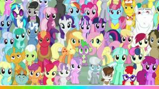 Мультик игра Мой маленький пони: Искать персонажей (My little pony Find Object)